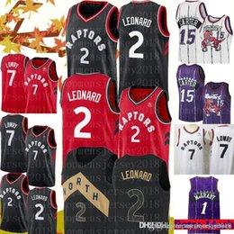 a0b090d15c5e Toronto 2 Kawhi Leonard jersey Raptors Jerseys Mens 7 Kyle Lowry Basketball  Retro Mesh 15 Vince Carter 1 Tracy McGrady Jersey