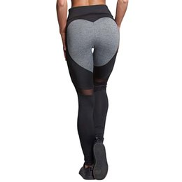 $enCountryForm.capitalKeyWord UK - New Push Up Women Mesh Pants Love Heart Black Leggings Sport Trousers Training Tight High Waist Sexy Yoga Pants #844246