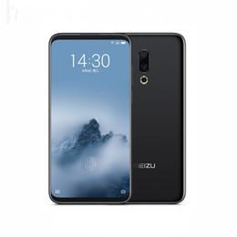 "Original Meizu 16 Plus 4G LTE Teléfono móvil 6 GB de RAM 128 GB ROM Snapdragon 845 Octa Core Android 6.5"" teléfono de huellas digitales 20.0MP ID celular inteligente en venta"