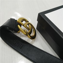 Big Black Boxes Australia - designer belts designer belt luxury belt mens designer belts women belt big gold buckle snake black leather classic belts with box 888698