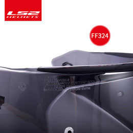$enCountryForm.capitalKeyWord Australia - 100% Original LS2 ff324 flip up motorcycle helmet smoke visor clear Pinlock Anti-fog patch Suitable for LS2 METRO Lens Anti-fog