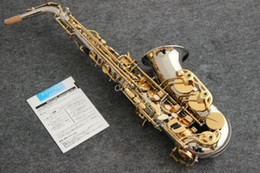 Silver Falls Australia - Japan Brand YANAGISAWA A-WO20 A992 Alto Saxophone Eb Silver gold button Alto Sax Top Musical instrument With mouthpiece & bag free shipping