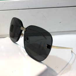 Pc Uv Case Australia - Luxury- 0355 Designer Sunglasses For Men And Women Fashion Popular Special UV Protection Lens Top Quality Frameless Come With Case