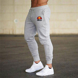 mens tracksuits bottoms Australia - Mens Joggers Casual Pants Fitness Sportswear Tracksuit Bottoms Skinny pants Sweatpants Trousers Black Gym Jogger Bodybuilding Track Pants