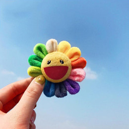 $enCountryForm.capitalKeyWord Australia - Colorful Sun Flower Brooch Badge Designer Brooches Fashion Women Mens Brooches Pins Unique Styles Jewelry Gift Hot Sale