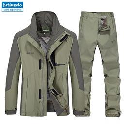 $enCountryForm.capitalKeyWord Australia - Outdoor hiking jacket suits waterproof men plus size Windbreaker quick drying women fishing jacket suits Mountaineer camping