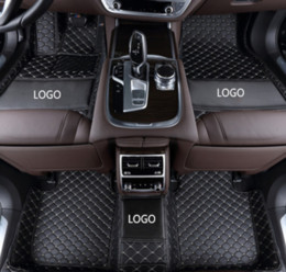 $enCountryForm.capitalKeyWord NZ - Mercedes-Benz AMG GT 2015-2018 car anti-slip mat luxury surrounded by waterproof leather wear-resistant car floor mat with logo