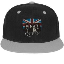 78bddf4c02a526 Queen Vintage Union Jack Unisex Man Hats Woman's Hat Trendy Cotton Snapback  Flatbrim Sun Hats Baseball Cap for Men