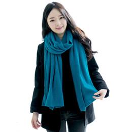 $enCountryForm.capitalKeyWord UK - Solid Winter Scarf Women Warm Long Knitted Cashmere Infinity Scarves Wool scarfs Pashmina Fall Shawl Cape Black Coffee