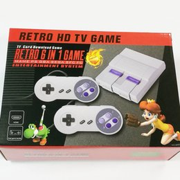 Fc Game Card Australia - HDMI Retro HD TV Game Console Support MAME PS GBA SEGA FC GAMES 6 IN 1 CONSOLE support TF Card download games Classic Handheld