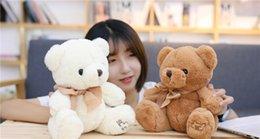 $enCountryForm.capitalKeyWord Canada - 20170622 New Two Colors Bear Bow Pillow Doll Child Birthday Gifts Stuffed Animals Plush Toys Free Sjipping