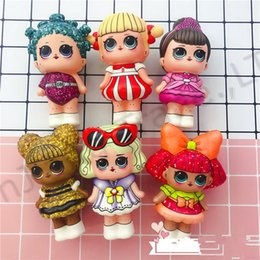 $enCountryForm.capitalKeyWord NZ - Surprise Baby Squishy Toy Slow Rising Jumbo Stress Relieve Dolls Multicolor Children Squeeze Toys Kids Decompression Toys best A22701