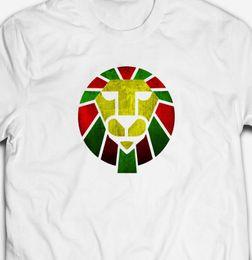 04f8d6e2ece7 RETRO REGGAE DUB MUSIC ZION LION 100% cotton JAMAICA JAMAICAN RASTA T-shirt  TeeFunny free shipping Unisex Casual top