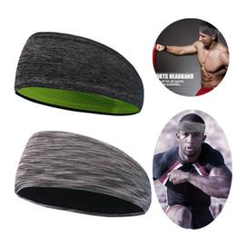 Best Fiber NZ - Best women men headbands Polyester fiber quick dry breathable soft sport gym sweatband head workout gym yoga accessories