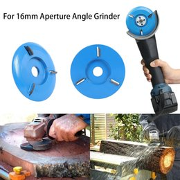 Home grinder online shopping - 16mm Woodworking Turbo Plane For Aperture Angle Grinder Wood Carving Cutter NEW Dropshipping Accessories tool Home New product