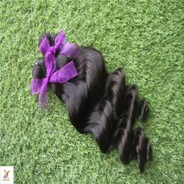 6a Deep Wave Hair Australia - Black Color Peruvian Deep Wave Hair Bundles 10-30 Inchs Remy Human Hair Extensions 6a Unprcessed Virgin Hair Weaving