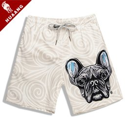 quick board NZ - New Cute Printed Quick Dry Summer Mens Beach Board Shorts Swimwear Bermuda Surf Swim Trunks For Men Athletic Boardshorts Sport Shorts JR010