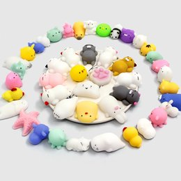 Discount movies bear - PU Squishies Cat Rabbit Elephant Pig Bear Duck Unicorn Healing Squeeze Fun Bath Kids Toy Gift Stress Reliever Lovely Dec