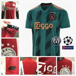Wholesale shirt deals for sale – custom FLASH DEAL Player Version ajax DE JONG TADIC home red soccer jerseys black football shirts Ajax jerseys Camisas De Futebol DE LIGT