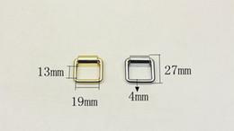 $enCountryForm.capitalKeyWord Australia - 16 19mm Metal Bag Side D Ring Clip Hang Buckle Bag Shoulder Strap Chain Link Buckle DIY Luggage Hardware Accessories