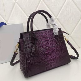 c668a93386fa Cows pattern leather bag online shopping - 2019 women designer handbags  alligator pattern genuine cow leather