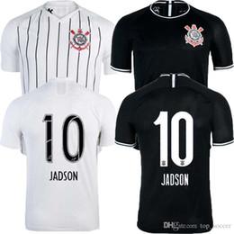 Discount t shirt ronaldo - best Brazil Sport Club Corinthians 2019 2020 Soccer Jerseys JADSON RONALDO SOMOZA CLAYSON JANDERSON 19 20 Paulista footb