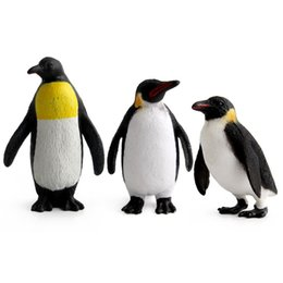 animal sounds elephant UK - Marine Organism Model Model Oceans Animal Oceans Boat of the Antarctic Penguin PVC Ornaments Doll Multi--Selectable
