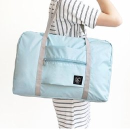 Cloth Clothing Storage Bags Australia - Tote Pouch Large Capacity Shoulder Bag Oxford Cloth Foldable Shopping Bags Reusable Storage Bag Eco Friendly Shopping Bags DH1046