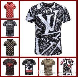 1282218061d 2018 Summer Cotton Tshirt New Summer Cotton Men T-Shirts Fashion 3D Plate  Snake Painting Tide Brand Mens Designer Shirts Hip Hop Luxury