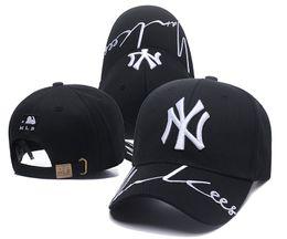 Men ny baseball caps online shopping - 2019 Fashion NY Snapback Baseball Caps Many Colors Peaked Cap New bone Adjustable Snapbacks Sport Hats for men Free Drop Shipping Mix Order