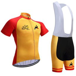 $enCountryForm.capitalKeyWord Australia - Can be customized LOGO Hot sale quick dry wholesale men cycling jersey Bicycle Jersey And Bibs Cycling Wear Polyester Cycling Jersey#1991027