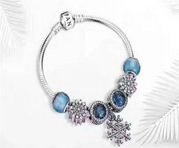 $enCountryForm.capitalKeyWord Australia - 925 Sterling Silver Beads Moments Bracelet set For European Pandora Style Jewelry With Origin box