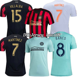 358f18353 Discount jersey united soccer - 2019 2020 MLS Parley Atlanta United FC blue soccer  jersey 19