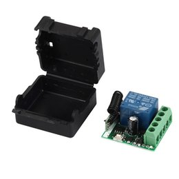 universal electronics NZ - onsumer Electronics 433 Mhz Wireless Remote Control Switch DC 12V 10A 1CH relay 433Mhz Receiver Module For 1527 learning code Transmitter...