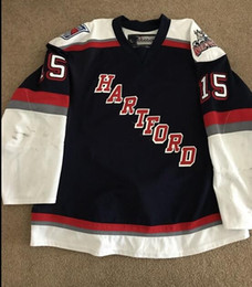 Jerseys Wolf Australia - Rare Vintage 2013-2014 Hartford Wolf Pack #Marek Hrivik Hockey Jersey Embroidery Stitched Customize any number and name Jerseys