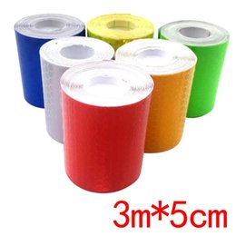 3m reflective tape car online shopping - 3m cm Reflective Strips Auto Stickers Auto Styling Ships Raincoat Motorcycle Decoration Cars Safety Warning Mark Tapes