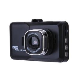 "Wholesale Dash Gps Australia - 3.0"" Vehicle 1080P Car DVR Dashboard DVR Camera Video Recorder Dash Cam G-Sensor GPS Free Shipping"