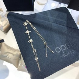 Elegant Gift Box Packaging NZ - Designer Brand Bracelet Gold-Plated Elegant and Star Elements with Packaging Gift Boxes snap jewelry wholesale