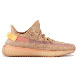 China Clay Hyperspace TRFRM Men Women Running Shoes Static Sesame Butter Kanye West Bred Sports Sneakers Shoes True Form EG7490 EG7491 EG7492 supplier butter box suppliers