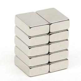 Magnet N52 Block Australia - Hardware Magnetic Materials Hakkin 10pcs 14.7*10*4.7mm Block N52 Rectangular Magnet Rare Earth NdFeB Neodymium Permanent Magnet