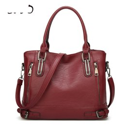 Hand Bag Large Brown Australia - good quality New Fashion Women's Handbags Totes European And American Style Red Shoulder Bags Large Capacity Shopping Top-hand Bag Sac