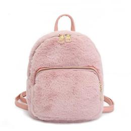 edcbba5ebc26 2019 Cute Backpack For Teen Kids Mini-back Pack High Quality Soft Plush Women s  Backpack Sweet Girl School Bag Shoulder Bag