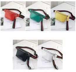 2020 unisex waist bags fashion pu leather chest bags for men and women high quality fanny packs letter print on Sale