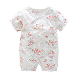 $enCountryForm.capitalKeyWord UK - good quality 2018 baby romper newborn baby summer onesies cotton short-sleeved girls jumpsuit baby clothes children's pajamas set