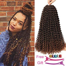 crochet braiding hair Australia - Passion Twists Braiding Hair 18inch Crochet Passion Twist Pretwisted Passion Twist Hair for Black Women (18inch T30)