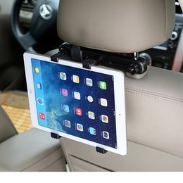 $enCountryForm.capitalKeyWord Australia - Car Back Seat Headrest Mount Holder For Ipad 2 3 4 1 2 Ipad Mini 1 2 3 4 Samsung Mipad 2 Tablet Pc Stands Bracket