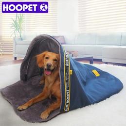 $enCountryForm.capitalKeyWord Australia - HOOPET Pet Cat Bed Small Dog Kennel Sofa Sleeping Bag House Puppy Cave Bed Warm Nest High Quality Pet Mat Pad