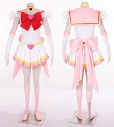 $enCountryForm.capitalKeyWord Australia - 2019 New Anime Sailor Moon Chibiusa Cosplay Costume Sailor Chibi Moon Carnaval Halloween Costumes for Women Kids Custom Any Size