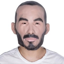 EastEr fancy drEss online shopping - Top Grade Funny Halloween Party Cosplay Famous Man David Beckham Face Mask Latex Party Real Human Face Mask Cool realistic mask Fancy dress