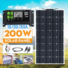 Battery controllers online shopping - 200W Solar Panel Battery Charger MC4 Connector A A PWM Controller Car Boat